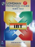 【書寶二手書T1/語言學習_QDF】Longman Preparation Course For The Toefl Test_原價1200_Phillips, Deborah