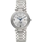 愛其華 晶鑽 超薄 防水 石英女錶 (3862DLW) 母親節禮物