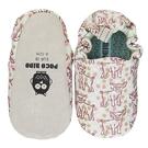 英國POCONIDO 手工鞋|嬰兒鞋|學步鞋-小豬寶寶-淺灰(6~24M)