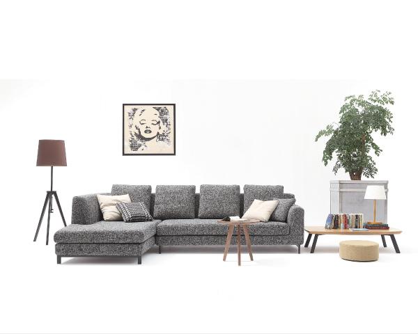 沙發【YUDA】 沛瑞絲 面左 L型沙發 沙發 J0S 128-1