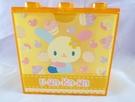【震撼精品百貨】U-Sa-Ha-Na_花小兔 ~ 積木造型收納盒『橘底甜點』