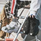春季男士厚底休閒鞋正韓情侶高筒運動鞋潮流男女鞋