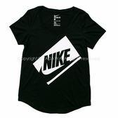 Nike NIKE TEE-BF BOX FUTURA  短袖上衣 779127010 女 健身 透氣  舒適 復古 運動 休閒 新款 流行 經典