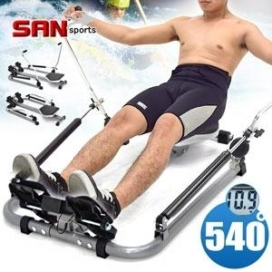 全方位540°核心划船機(滑船機.健腹機健腹器擴胸器.全身伸展臂力腹肌. 健身機【SAN SPORTS】