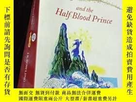 二手書博民逛書店Harry罕見Porter and the half-blood