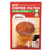 UCC咖啡濾紙CF-4*40入【愛買】