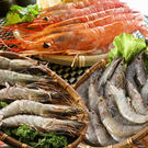 【蝦爆超值套餐】天使紅蝦+海草蝦+鮮甜白蝦