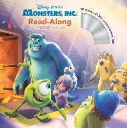 【麥克書店】MONSTERS, INC. (怪獸電力公司)  /英文繪本附CD‧聽迪士尼說故事