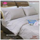 美國棉【薄床包+薄被套】3.5*6.2尺『質感亮灰』/御芙專櫃/素色混搭魅力˙新主張☆*╮