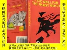 二手書博民逛書店a罕見bad spell for the worst witch 對最壞的巫婆來說是個 壞兆頭.Y20039