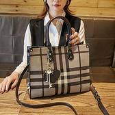 手提包 女側背包2020夏季新款 時尚洋氣托特包 質感單肩手提大包百搭斜挎包 店慶降價