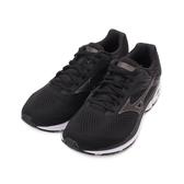 MIZUNO WAVE RIDER 23 寬楦慢跑鞋 黑 J1GC190409 男鞋