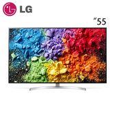 【LG 樂金】55型 SUPER UHD 1奈米 4K液晶電視(55SK8500PWA)