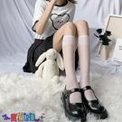中筒襪襪子女透明小腿襪白色襪子女jk夏天薄款中筒夏季長筒ins潮半筒絲襪日系【寶貝 新品】