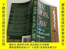 二手書博民逛書店HIV,罕見AIDS and the LawY204914 外文