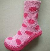 春夏季聖誕女款保暖 防滑加厚絨成人地板襪 保暖軟底居家室內鞋襪子