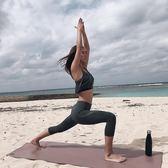 瑜伽褲女緊身高腰速干跑步七分褲彈力健身褲