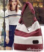 大包新月包包女包帆布包女士百搭歐美手袋側背包 黛尼時尚精品