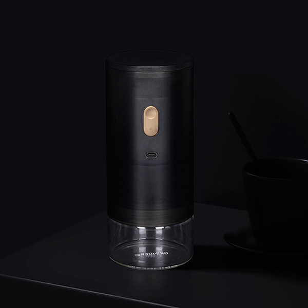 TIMEMORE泰摩GRINDER go研磨師便攜式電動磨豆機(栗子Go)-磨砂黑
