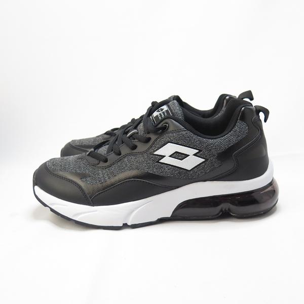 LOTTO FLOAT 氣墊跑鞋 透氣鞋面 避震鞋墊 LT0AMR2180 男 黑白【iSport愛運動】