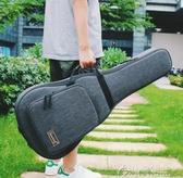 吉他包-Saning尚音41寸民謠吉他包加厚古典木吉他防水背包36寸雙肩包琴包 花間公主 YYS