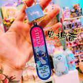 正版授權 迪士尼 史迪奇 滑板鑰匙圈 吊飾 掛飾 COCOS SN199