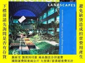 二手書博民逛書店Interior罕見LANDSCAPES 室內景觀Y6515 Nelson R. Hammer,ASLA Ro