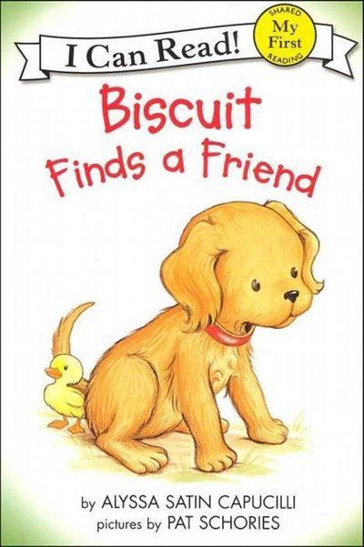 (二手書)An I Can Read Book My First Reading: Biscuit Finds a Friend