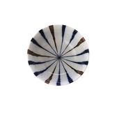 藍十草飯碗12cm