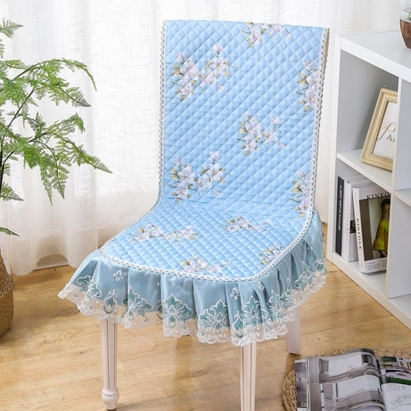 椅套 椅子套罩坐墊靠墊一體加厚防滑連體餐椅皮墊布藝現代中式四季通用【快速出貨國慶八折】