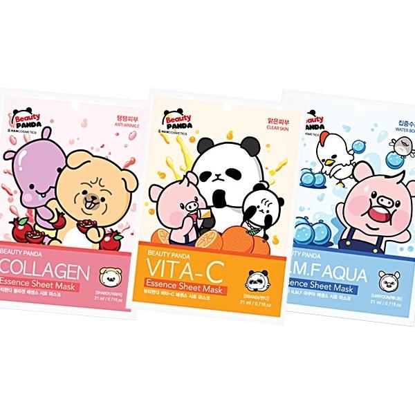 韓國 Beauty Panda 保濕面膜(21ml) 三款可選【小三美日】