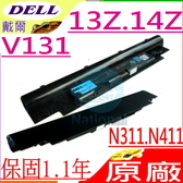 DELL 電池(原廠4芯)-戴爾 電池- VOSTRO V131,V131D,JD41Y,N2DN5,312-1257,312-1258,268X5,H2XW1