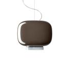 義大利 Foscarini Chouchin 3 Suspension Lamp 30cm 彩色蘑菇系列 吊燈 - 型號 3 深灰色款