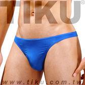TIKU 梯酷 ~ 美臀型男三角男內褲-藍色(LP1693) ~猛男激凸再起,展現臀型曲線