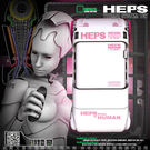 擼擼杯撸撸杯-情趣用品-男用深喉嚨自慰器 韓國HEPS 第二代 虛擬性愛科技 仿口交自愛器 白色