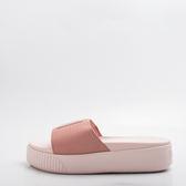 PUMA  LATFORM SLIDE  EP  厚底 加高 休閒拖鞋-玫瑰金 366122-01