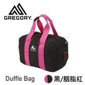 結束代理-【美國Gregory】Duffle Bag日系休閒托特包-黑/胭脂紅-XS