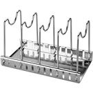 砧板架鍋蓋收納架坐式砧板架子座放切菜板的支架廚房菜板案板粘板置物架 快速出貨