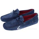 TOD'S FOR FERRARI GOMMINO 麂皮豆豆休閒鞋(藍色) 1620004-34