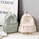 帆布後背包 後背包女小包2021新款時尚大學生簡約ins風韓版帆布百搭日韓書包 萊俐亞