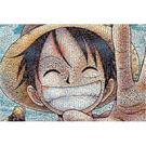 【日本進口拼圖】海賊王/航海王-魯夫馬賽克 1000片 ES1000-330