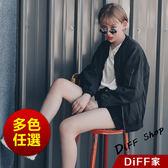 【DIFF】韓國款棒球服寬鬆休閒夾克衫百搭情侶外套女 飛行外套 棒球外套  大學外套【J34】