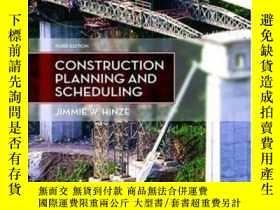 二手書博民逛書店Construction罕見Planning And Scheduling (3rd Edition)-施工計劃與
