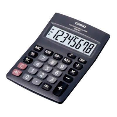 卡西歐CASIO國家考試桌上型計算機MW-8V8位元【KO01002】