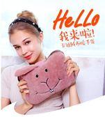 熱水袋防爆熱水袋充電式暖手寶煖寶寶毛絨萌萌可愛韓版電暖寶暖水袋  提拉米蘇