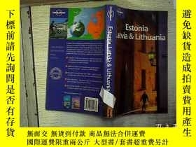 二手書博民逛書店Estonia罕見Latvia & Lithuania 愛沙尼亞