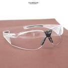 鏡框 運動風透明防風防塵護目鏡NY436