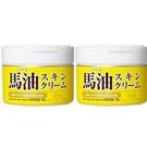 日本Loshi 保水潤澤馬油護膚霜/乳液 220ml*2瓶