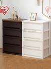 日本愛麗思塑料抽屜式收納櫃子客廳臥室床頭櫃愛麗絲整理盒儲物箱  ATF  魔法鞋櫃