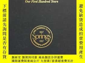 二手書博民逛書店THE罕見SPRINGS STORY19270 Louise P